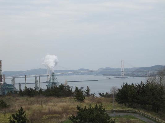 白鳥湾展望台 白鳥大橋