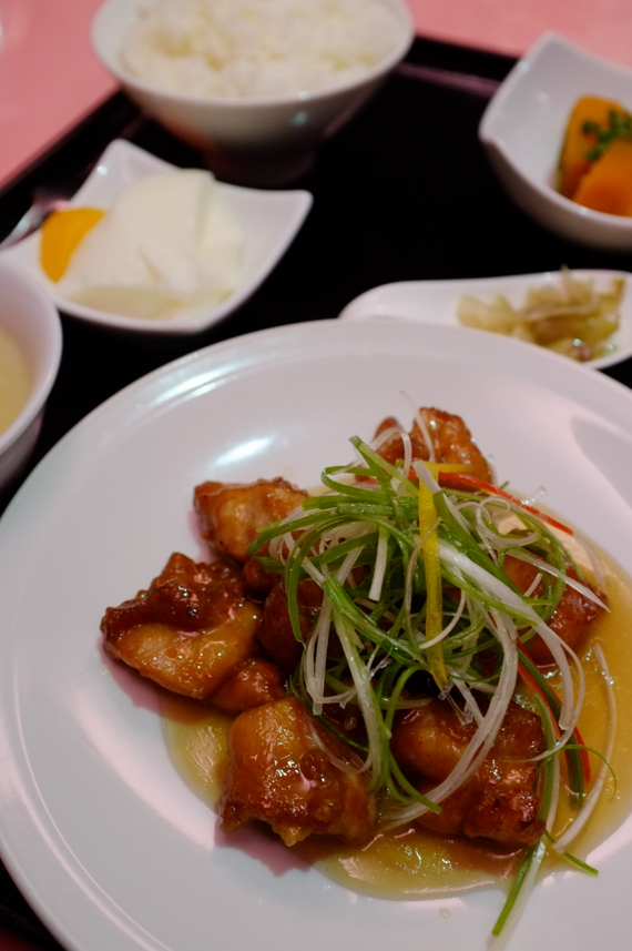 鶏肉の旨辛炒め(ランチ)