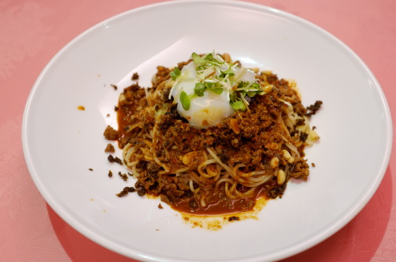 四川風そば(汁なし坦々麺)