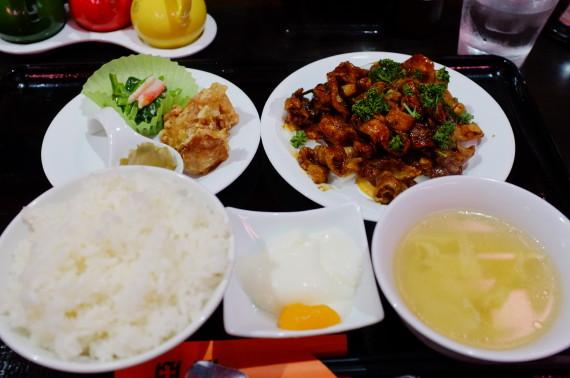 豚バラ肉のみそ炒め(ランチ)
