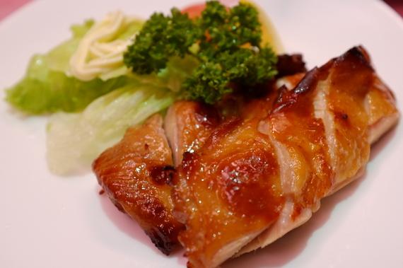 若鶏の中国チーズ焼き