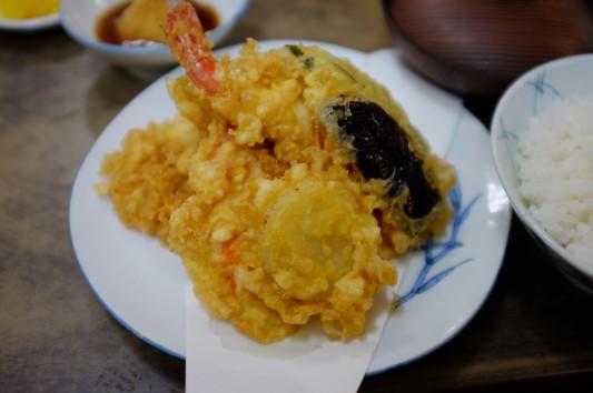 天ぷら定食 あっぷw