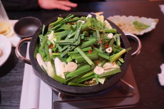 饗膳すきやき風もつ鍋