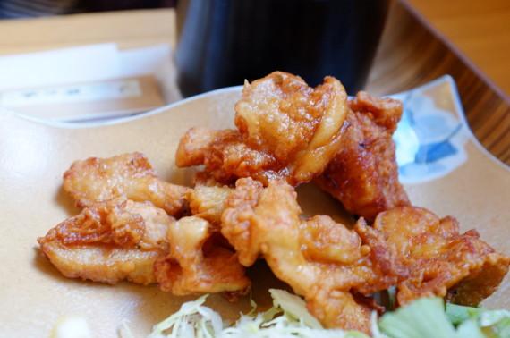 鶏唐揚げ定食 あっぷw