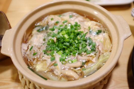 牛ホルモン鍋(醤油味) 1人前