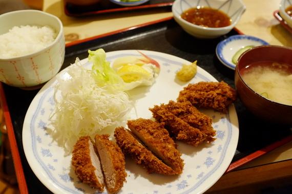 ヒレカツ定食(特上)