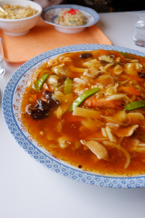 ジャンボ炒麺 あっぷw