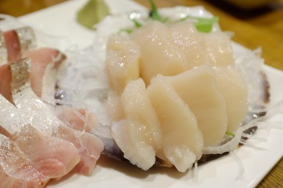 刺身(カンパチ・ホタテ)