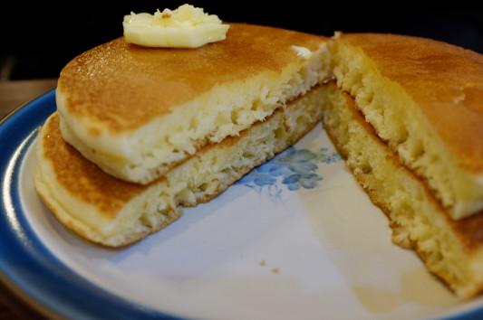 ホットケーキ 断面w