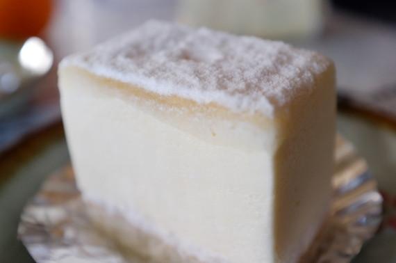 ホワイトチョコとクリームチーズのムース