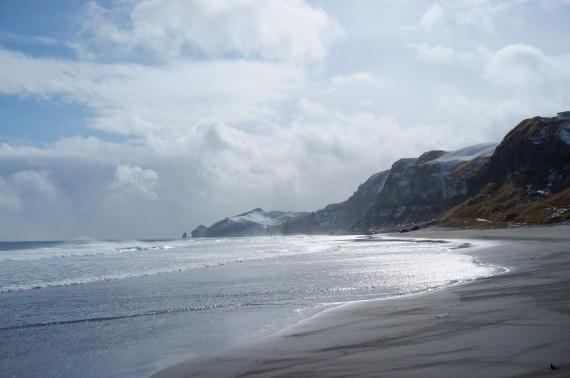 イタンキ浜(2013年3月)
