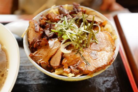 ミニミニセット(ミニチャーシュー丼)