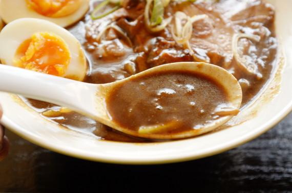カレーラーメン スープあっぷw