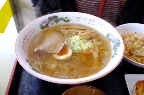 金塩ラーメン(海老香塩)