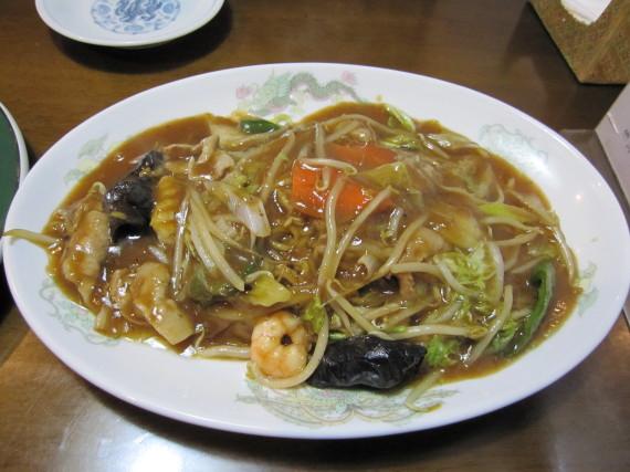 広東炒麺(五目ヤキソバ)