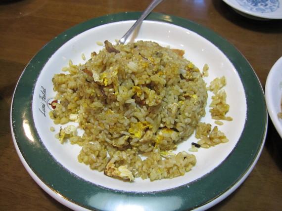 蟹粉炒飯(カニヤキメシ)