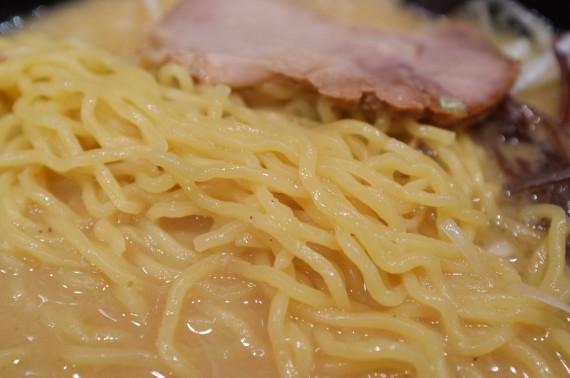 味噌チャーシューメン 麺あっぷw