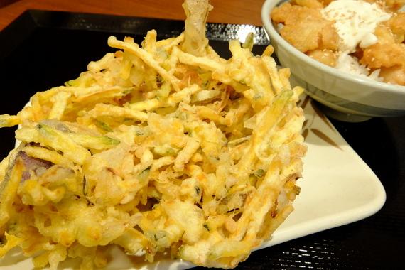 夏野菜かき揚げ