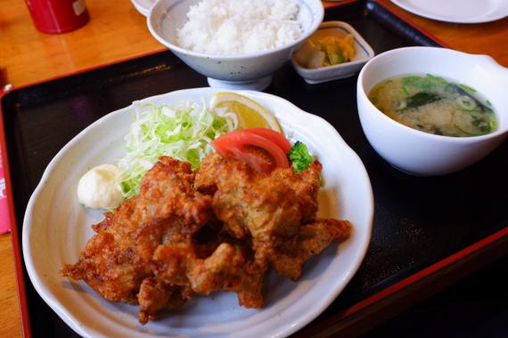 塩ザンギ定食