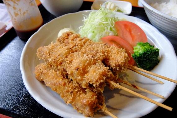 串カツランチ(5本)