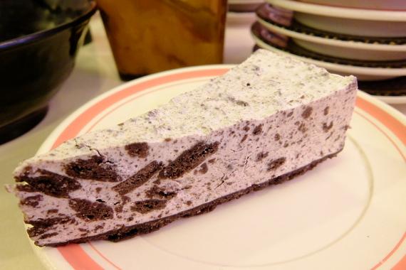 クッキークリームレアチーズケーキ