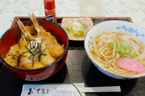海老丼セット
