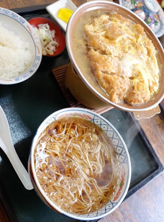 カツ丼セット(ミニごはん)