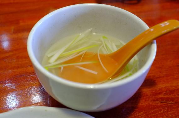 牛たん定食(テールスープ)