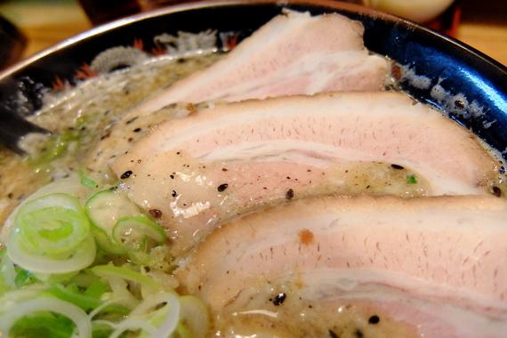 背脂味噌ラーメン+チャーシュー