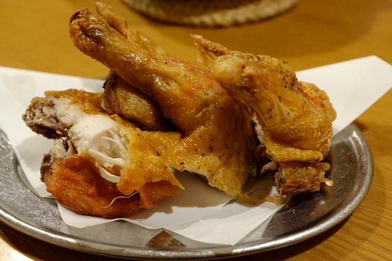 若鶏から揚げ