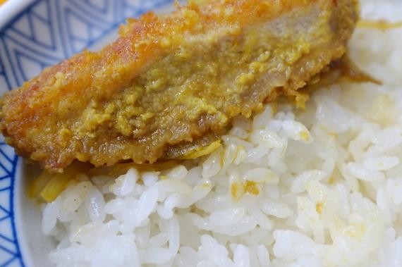 カレー味カツ丼