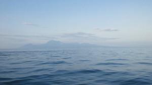 島原半島がすぐそこに