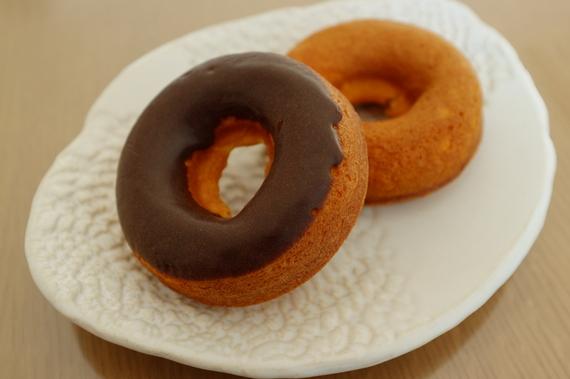 焼きドーナツ(チョコレート、パンプキン)