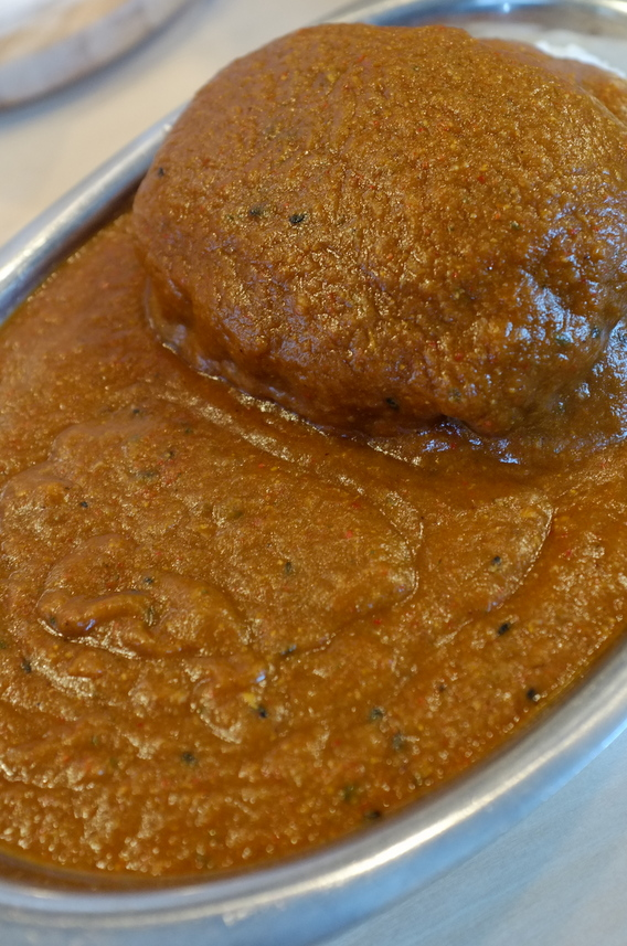 ハンバーグカレー(辛口)