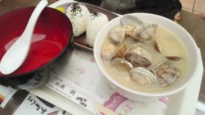 貝汁定食大盛り