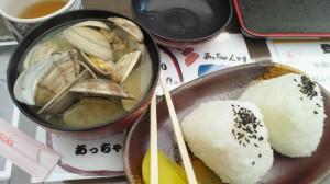 貝汁定食普通盛り