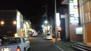 中島町ネオン街