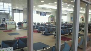 佐賀空港の搭乗口は2個