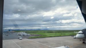 とってものどかな佐賀空港