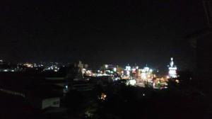 Z_石和ロードサイドエリアの夜景