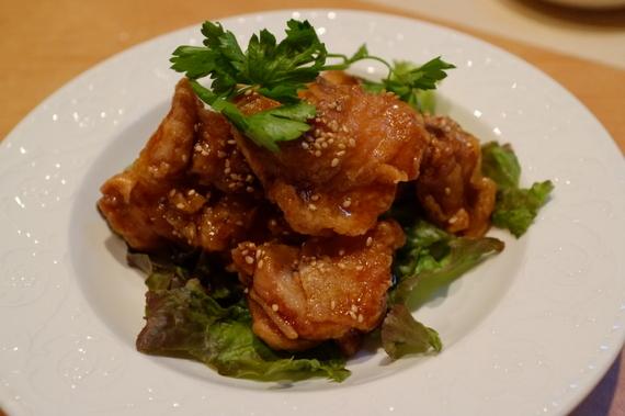HIRO風油淋鶏