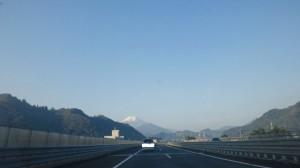富士山ひょっこりくっきり