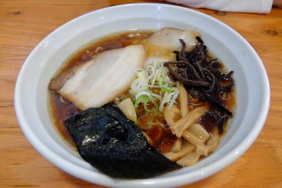 魚介出汁の和風醤油