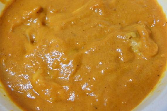 チキンチーズカリーセット