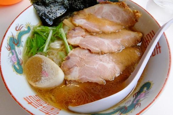 和味(なごみ)醤油らーめん+チャーシュー