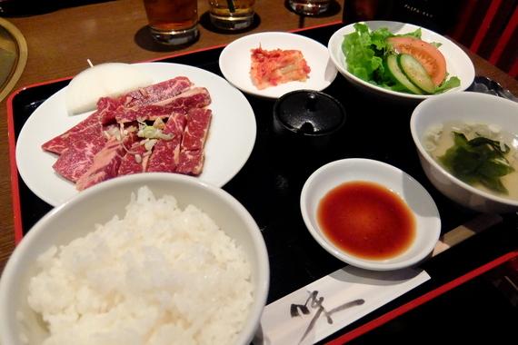 サガリ定食