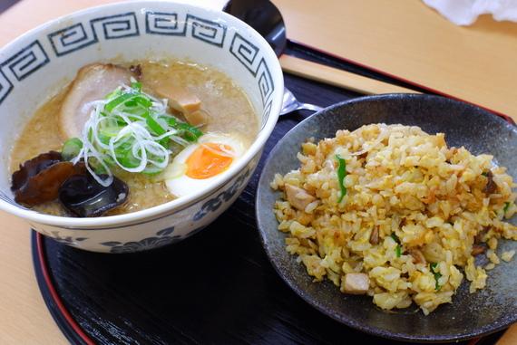 レディースセット(ミニ味噌+半チャーハン)