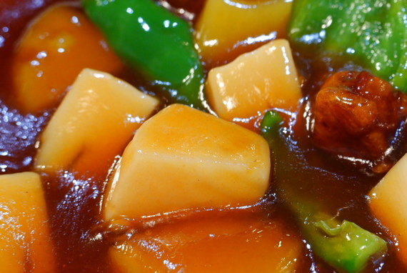 酢ブタ定食